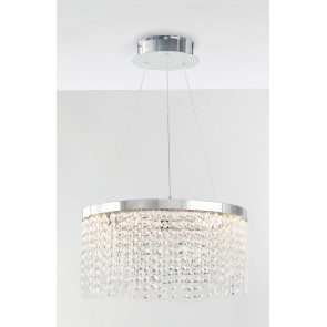 LED-VENUS-S45 - Lampadario led a sospensione ad anello 45 watt