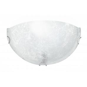 03/03712 - Applique dalla forma essenziale ma elegante dal colore bianco 60 watt E27