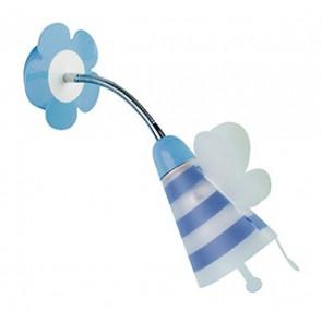 K-FATINA/AP BLU - Applique orientabile blu con fatina