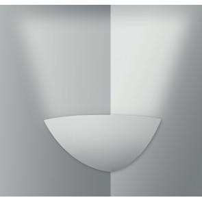 I-SANTORINI-AP - Applique angolare bianca semplice e elegante 28 watt E14