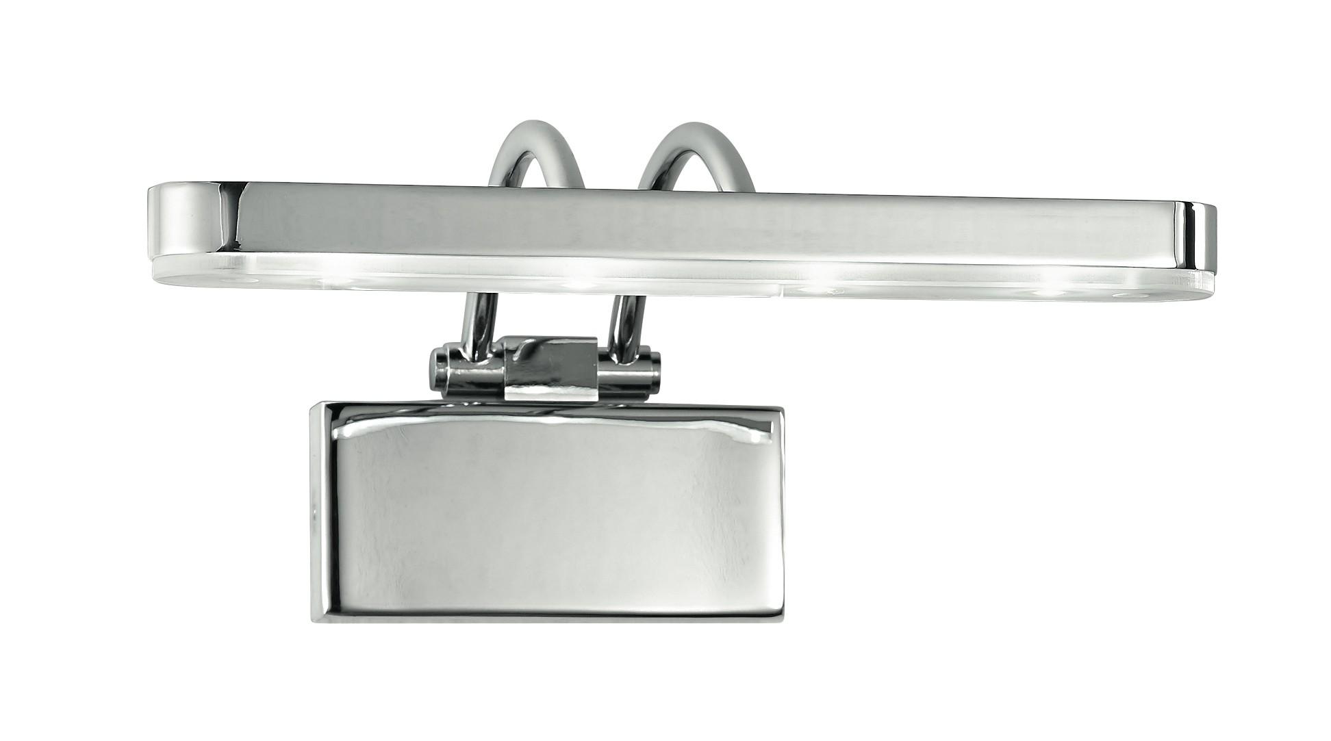 Led w epsilon w applique con luce led dalla forma semplice