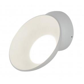 LED-W-OMNIA/15W - Applique bianca tonda orientabile con luce led 15 watt 3000 kelvin