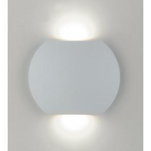 LED-W-MIURA/6W - Applique bianca dalla forma elegante con luce led 6 watt 3000 kelvin