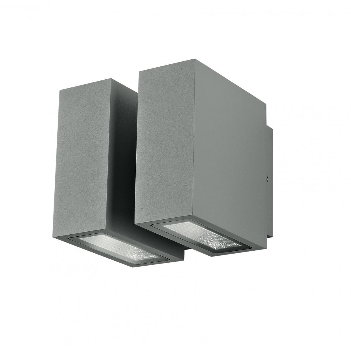 Led beta ap2 applique per esterno luce led bidirezionale - Applique led esterno ...