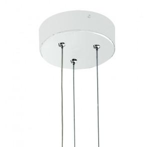 Sospensione in Alluminio con Base Circolare Saturn FanEurope