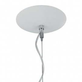 Sospensione a filo in Alluminio Bianco Imagine Fan Europe