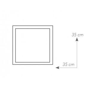 I-GLAMOUR/PL35Q Lampada Plafoniere MODERNE Bianco Led