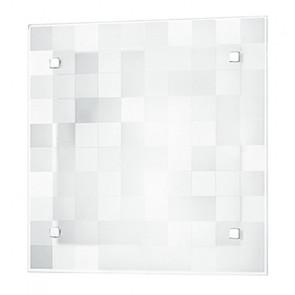 I-CHANEL/PL30 - Plafoniera di forma quadrata dal deisgn semplice e moderno 60 watt E27