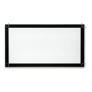 I-6233/2X55 - Plafoniera rettangolare bianca con cornice nera 55 watt PLL