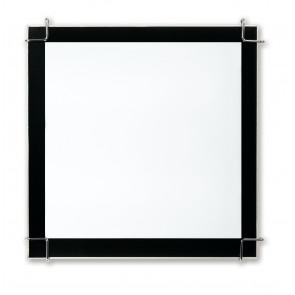 I-6233/3X36 - Plafoniera con cornice nera di forma quadrata e dal design moderno 36 watt PLL