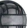 Struttura in Poliammide Nero e Diffusore in Vetro IP44 Linea Smart