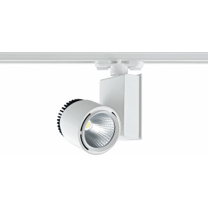 LED-TRAIN-33W - Faretto per binario e luce led dal colore bianco 33 watt 3000 kelvin