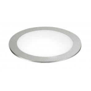 INC-FUSION-5W NIK - Faretto Alluminio Nikel Tondo Incasso Controsoffittatura Led 5 watt Luce Naturale