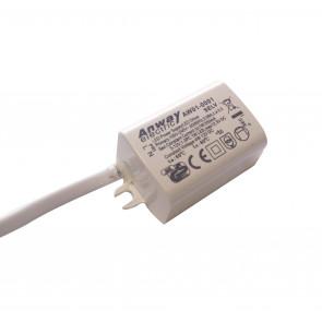 I-DRIVER/3W-IP67 - Alimentatore 3,8x2,6x2,1 cm per luce led 3 watt