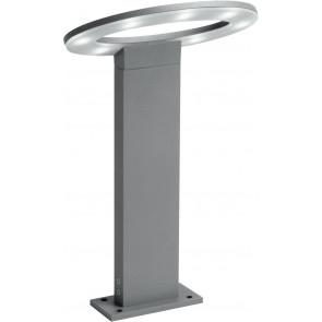 LED-EROS-P1 - Lampione luce per giardino 60 cm silver