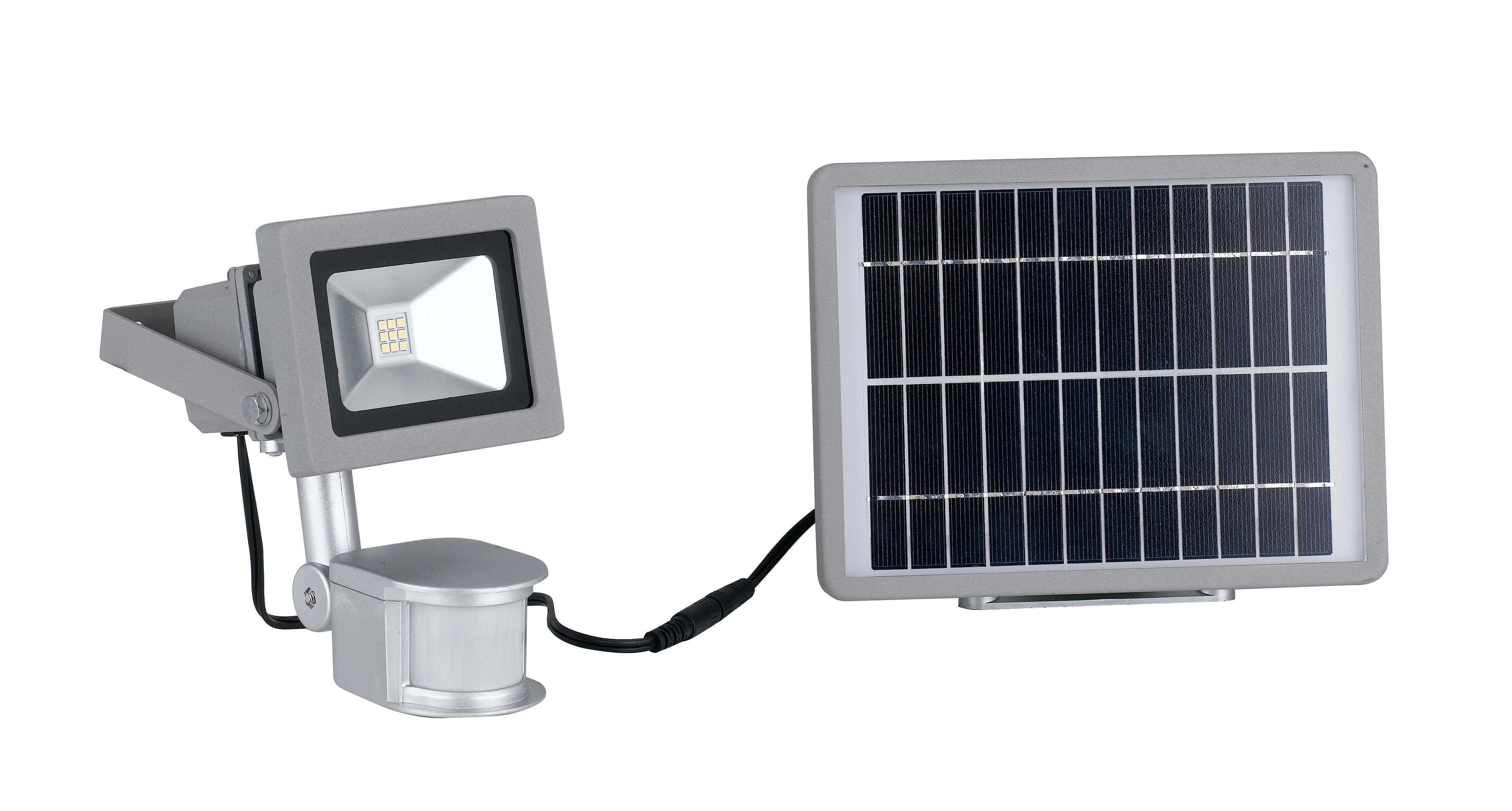 Plafoniere Con Pannello Solare : Led elios solar proiettore con pannello solare mondialshop