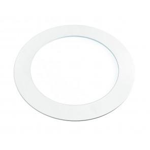 INC-SLIM/12WC BCO - Incasso Controsoffitto Faretto Tondo Alluminio Bianco Led 12 watt Luce Calda