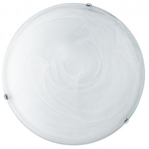 I-LUNA/PL30 - Plafoniera led tonda bianca sfumata 12 watt