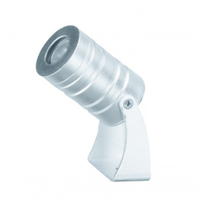 LED-IRIDE-3P-BCO Proiettore Cromo Led  6000kelvin 3 watt
