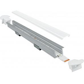 I-PROFILO-BERLINO-2 - Profilo 2 m per Strip Led con Tappi 1,6x1,187 cm