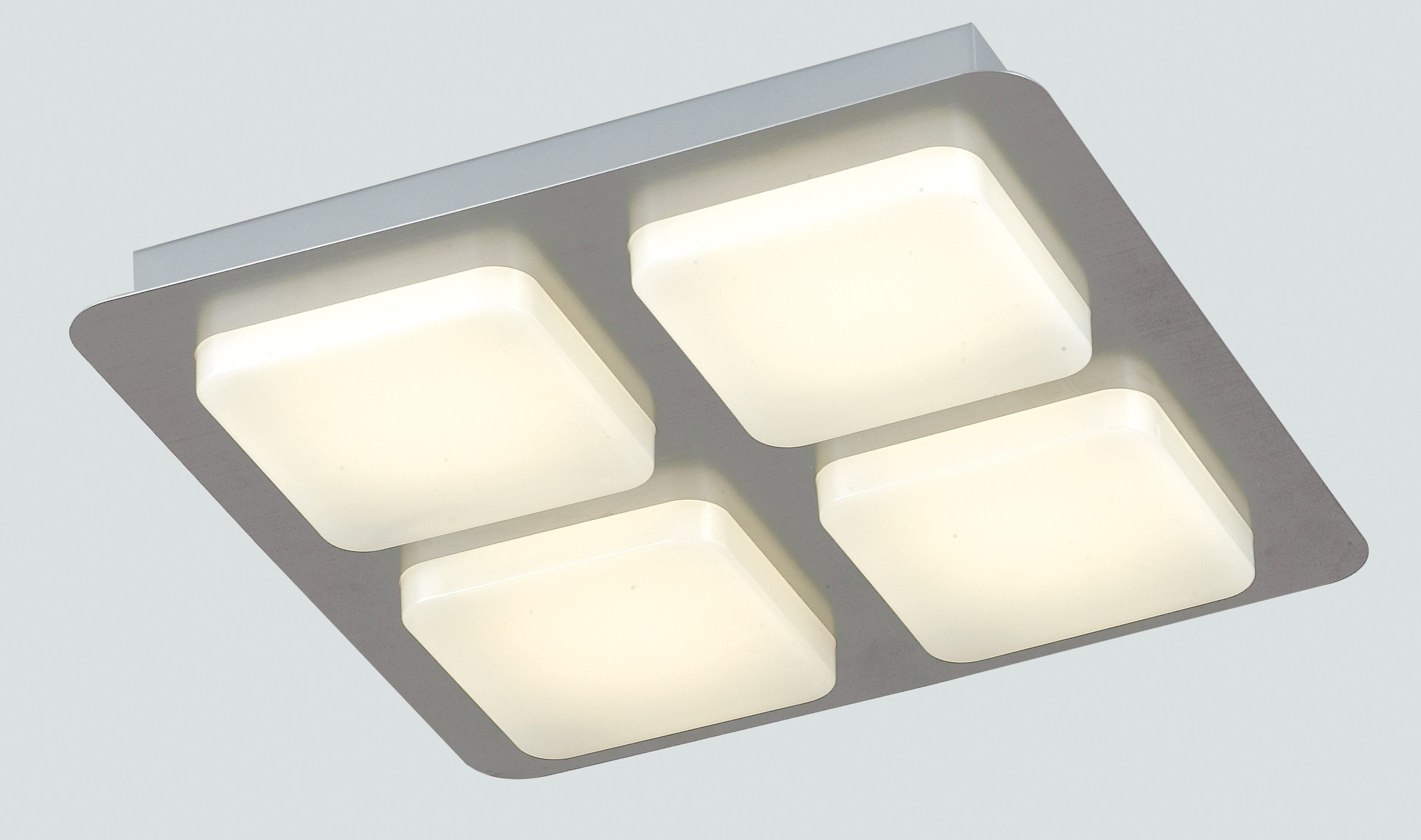 Plafoniera Muro Led : Led madison q4 8031440357906 fan europe lighting plafoniera quadrata