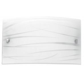 I-GOGAIN/AP3520 - Applique dalla forma rettangolare con decorazione originale e luci led 16 watt