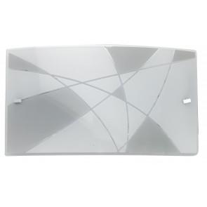 I-MAXIMA/AP3520 - Applique a led bianca e tortora 16 watt
