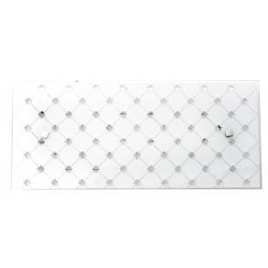 I-FLORIAN/AP4520 - Applique dalla forma semplice quadrata elegante e raffinata con luci led 18 watt
