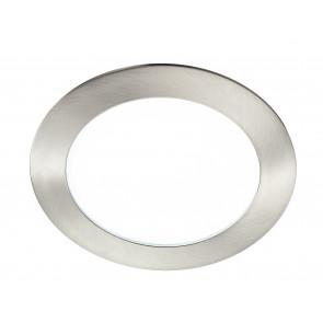 INC-SLIM/12W NIK - Faretto Incasso Tondo Alluminio Nikel Soffitto Ribassato Led 12 watt Luce Naturale