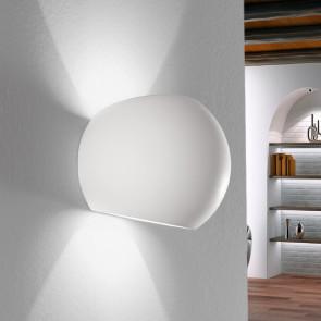 I-MOSES-AP - Applique tonda bianca 28 watt 2700 kelvin G9