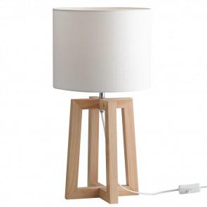 I berry l 8031440363792 fan europe lighting lume in legno - Lampade moderne da tavolo ...
