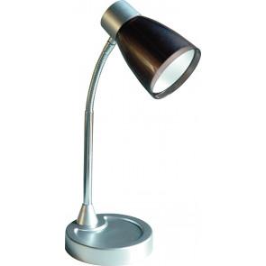 LDT055ARK-NERO - Lume Nero Orientabile Metallo Plastica Lampada da Lettura Moderna E14