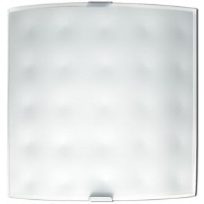 47/00312 - Applique di colore bianco dalla linea moderna e elegante 60 watt E27