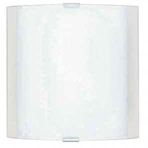 180/01812 - Applique quadrata 26x26 cm bianca 60 watt E27