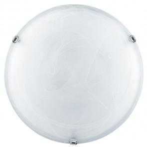 32/04010 - Plafoniera Tonda 50 cm Vetro Sfumato Bianco Classica E27