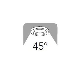 Raggio d'illuminazione di 45°