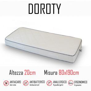 Materasso Doroty 80x190 in poliuretano alto 20cm