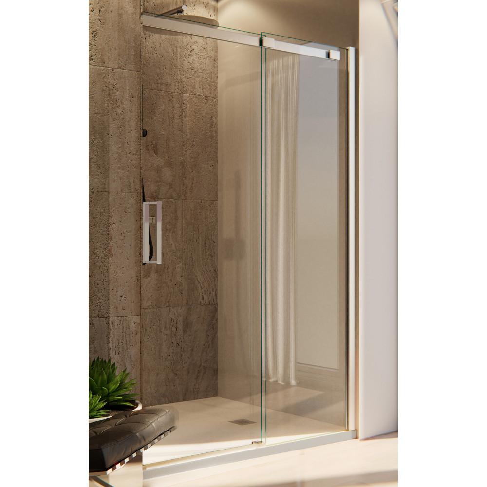 Porta Nicchia doccia minimal 8mm 195h cristallo con anticalcare senza profili