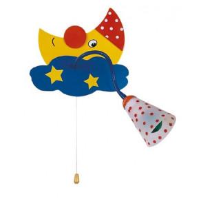 Applique da parete orienttabile Sogno per cameretta bimbi colorato lampada per bambini