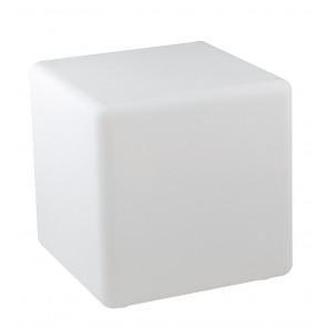 I-GECO-CUBO-L40 Lume da giardino GECO cubo bianco a LED RGB dimmerabile cambia colore dm 40 cm