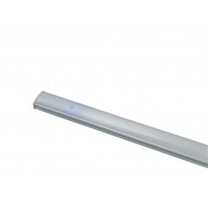 LEDBAR-UNIX-120 Barra led sotto pensile UNIX in alluminio cm 120L x 0,9H x 1,7P SMD bianco con diffusore in policarbonato riflet