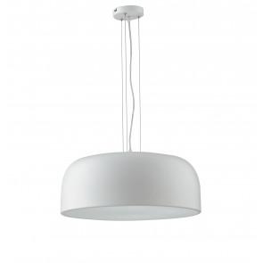 Lampada da soffitto sospensione BISTROT design moderno colore bianco 4xE27