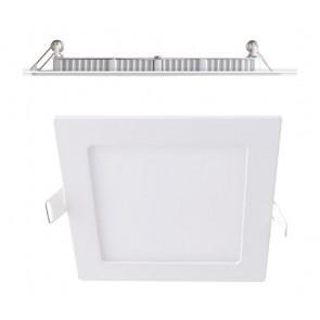 INC-FLAP/12WF - Faretto a Incasso Quadrato Bianco Opaco Alluminio Led 12 watt Luce Fredda