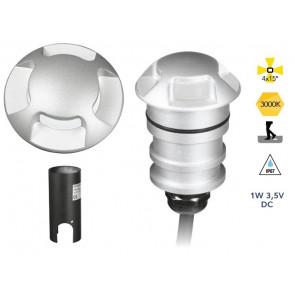 LED-STEP-R-4 - Faretto calpestabile led con quattro punti luce